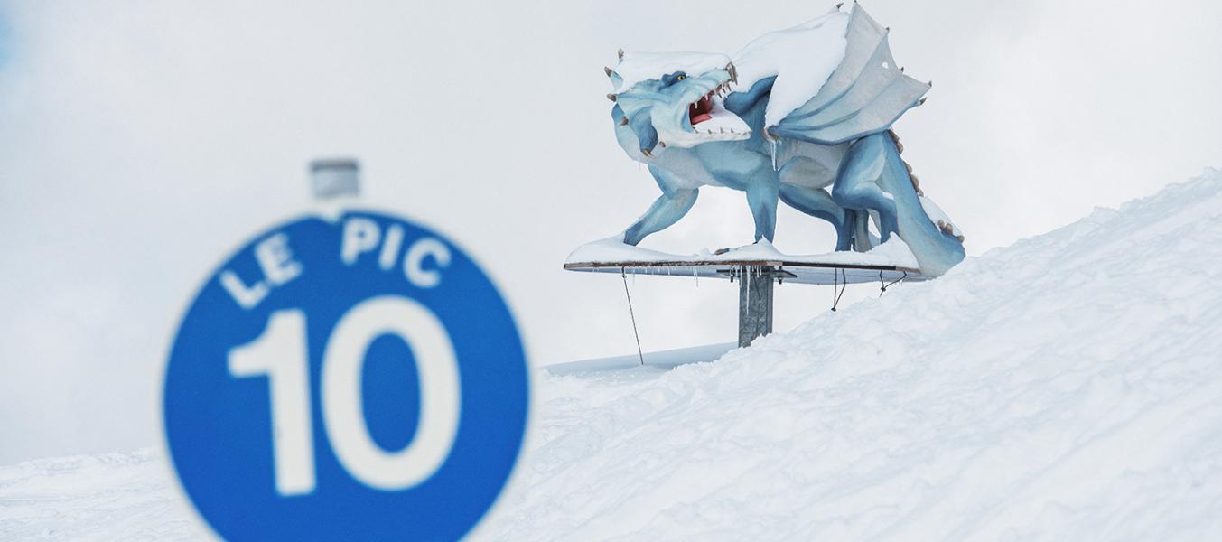 Dragon de l'Altaï piste
