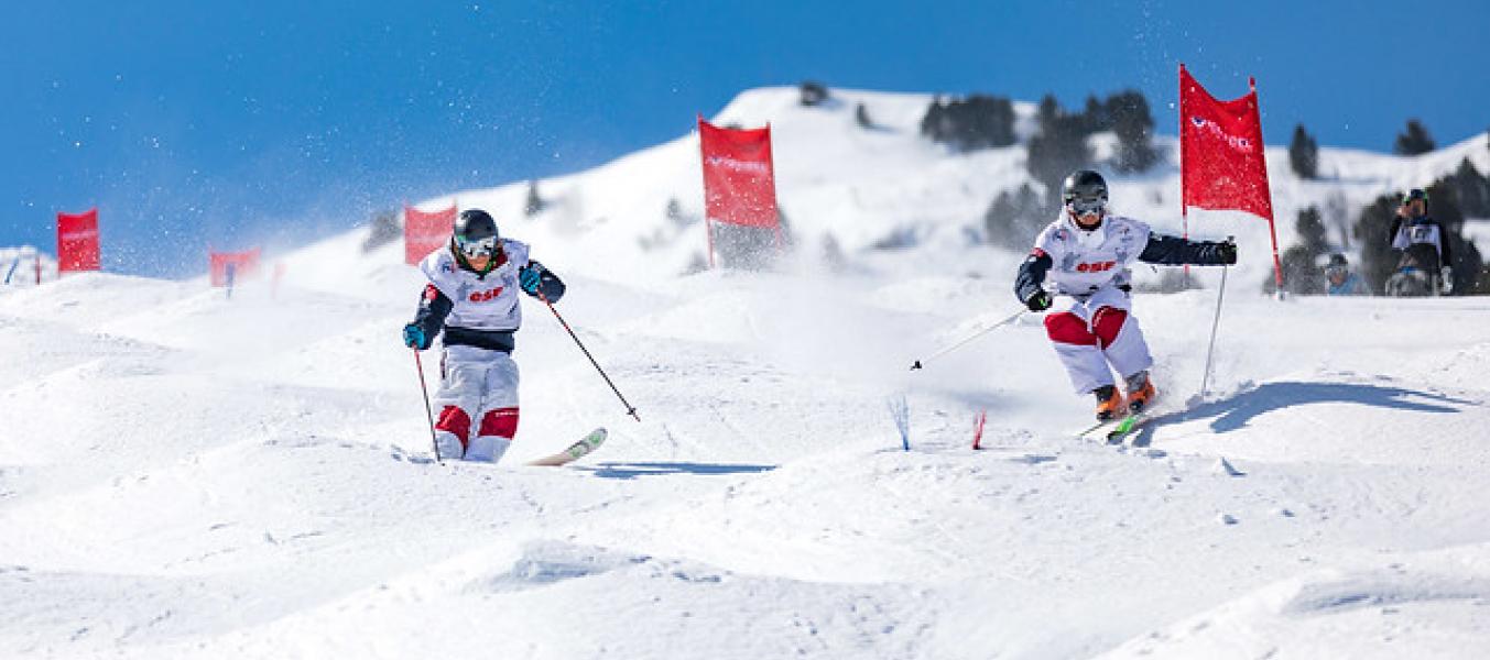 Ski de bosses Méribel