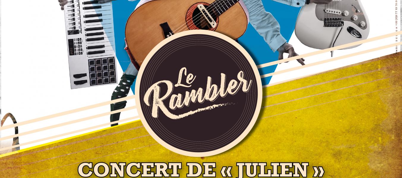 Concert de Julien au Rambler