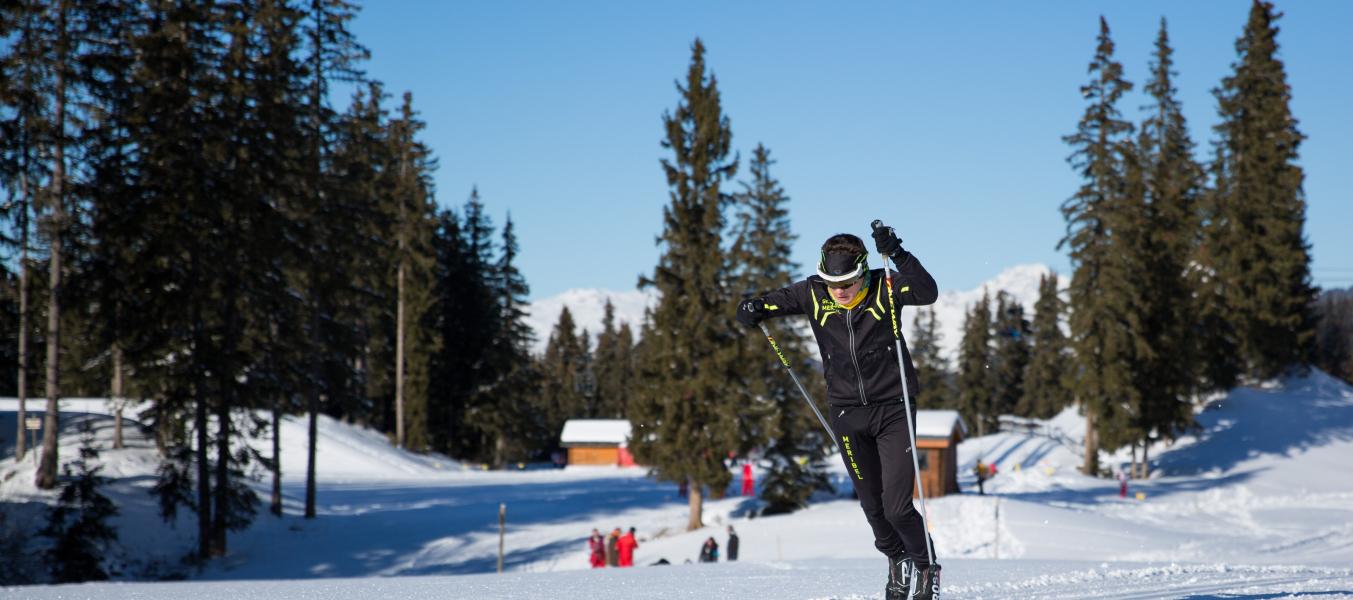 Cours collectifs adultes (Ski de fond)