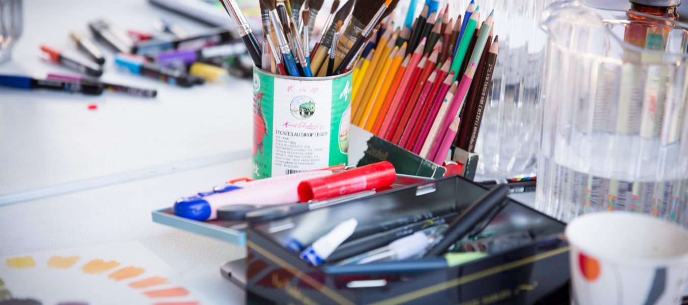 Atelier d'art participatif
