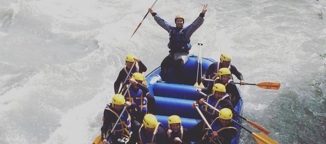 Descente Rafting Sportive dès 12 ans