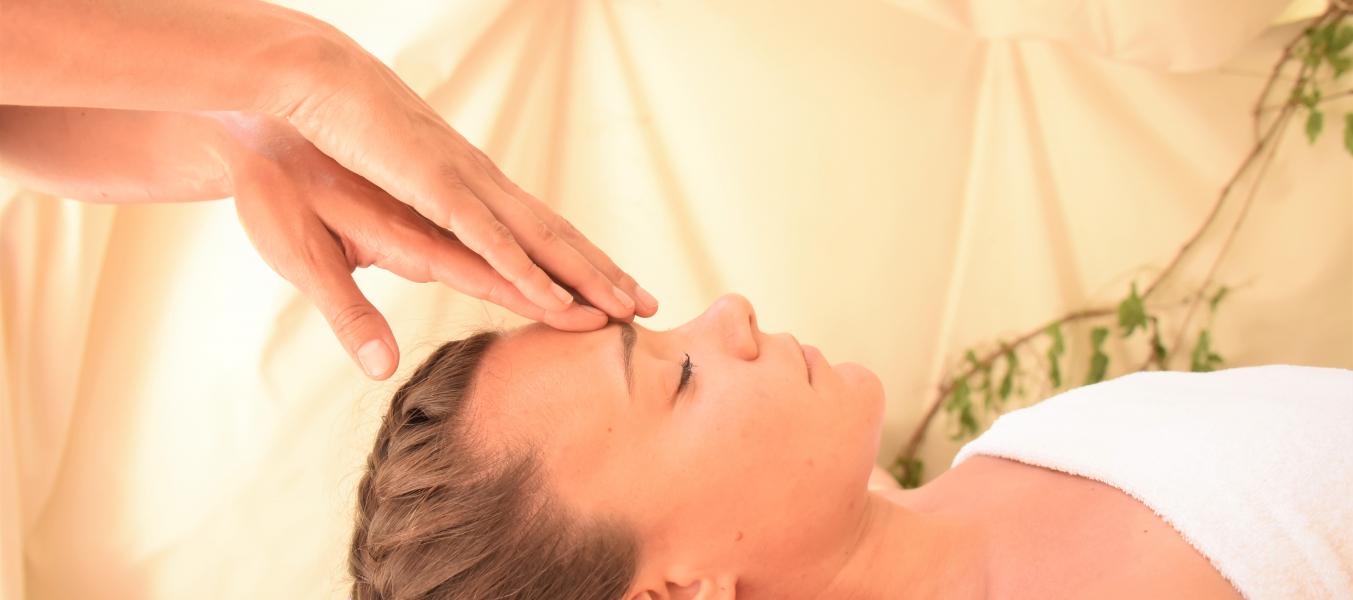 Massage sous Tippie au Clos Bernard