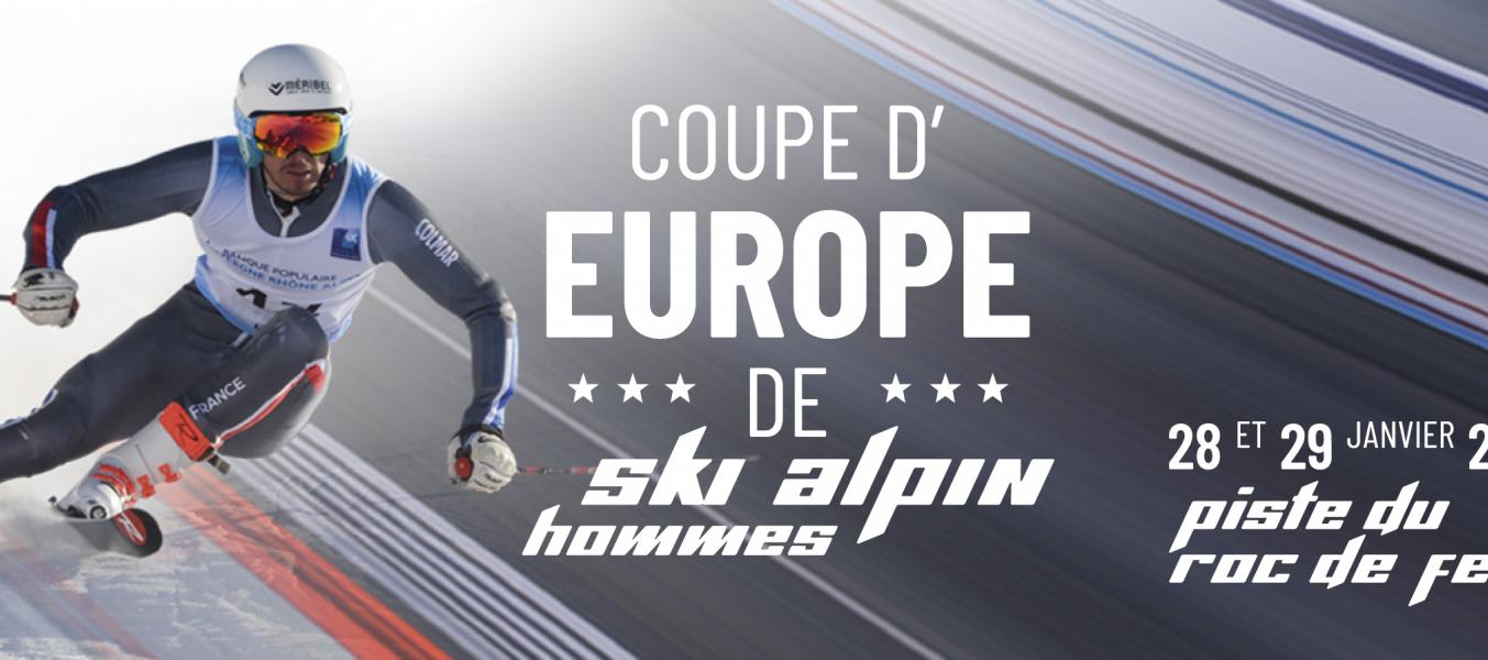 Compétition ski alpin Méribel