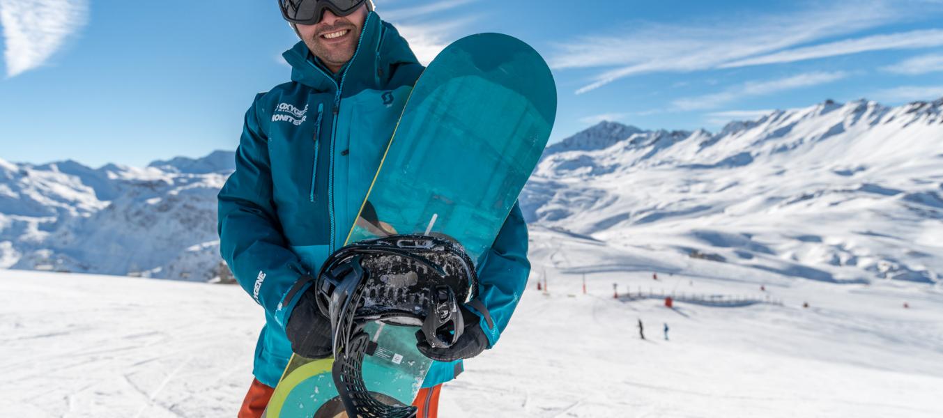 Moniteur de snowboard Oxygène