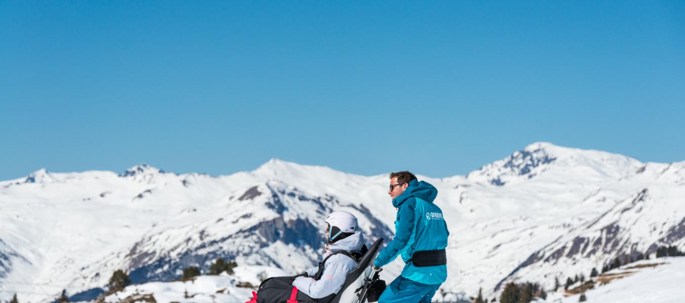 Sortie en taxi ski