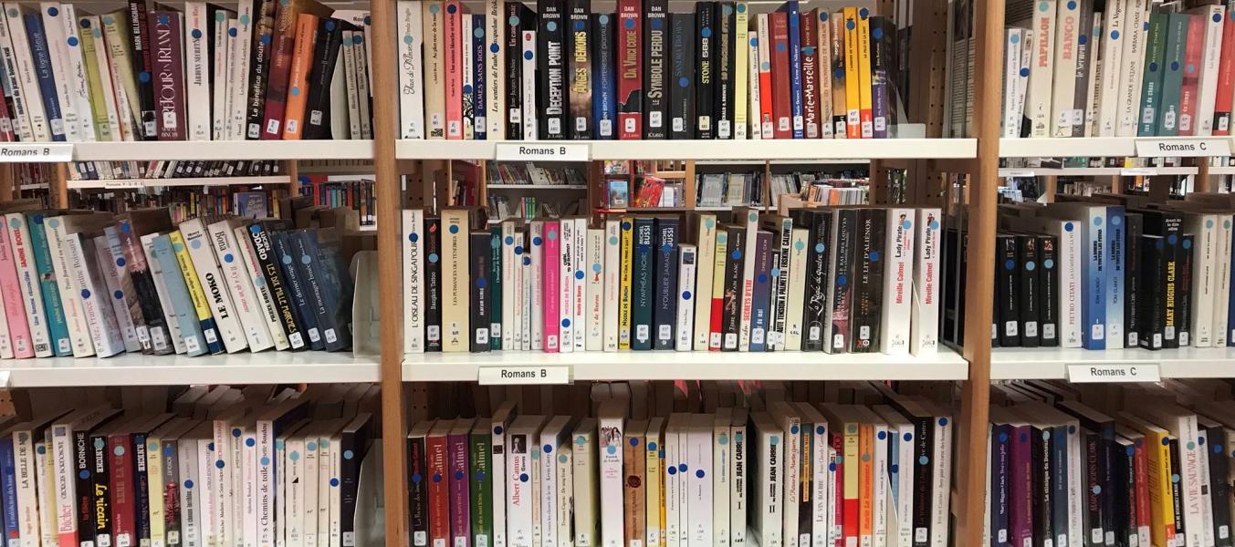 bibliothèque des Allues