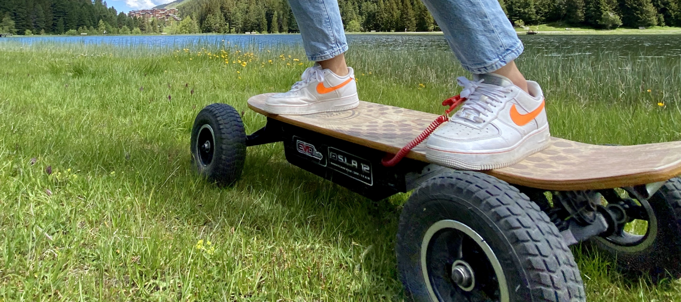 Initiation de 30 mn au skate électrique tout terrain