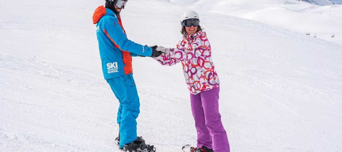 Session ski ou snowboard débutants by Oxygène