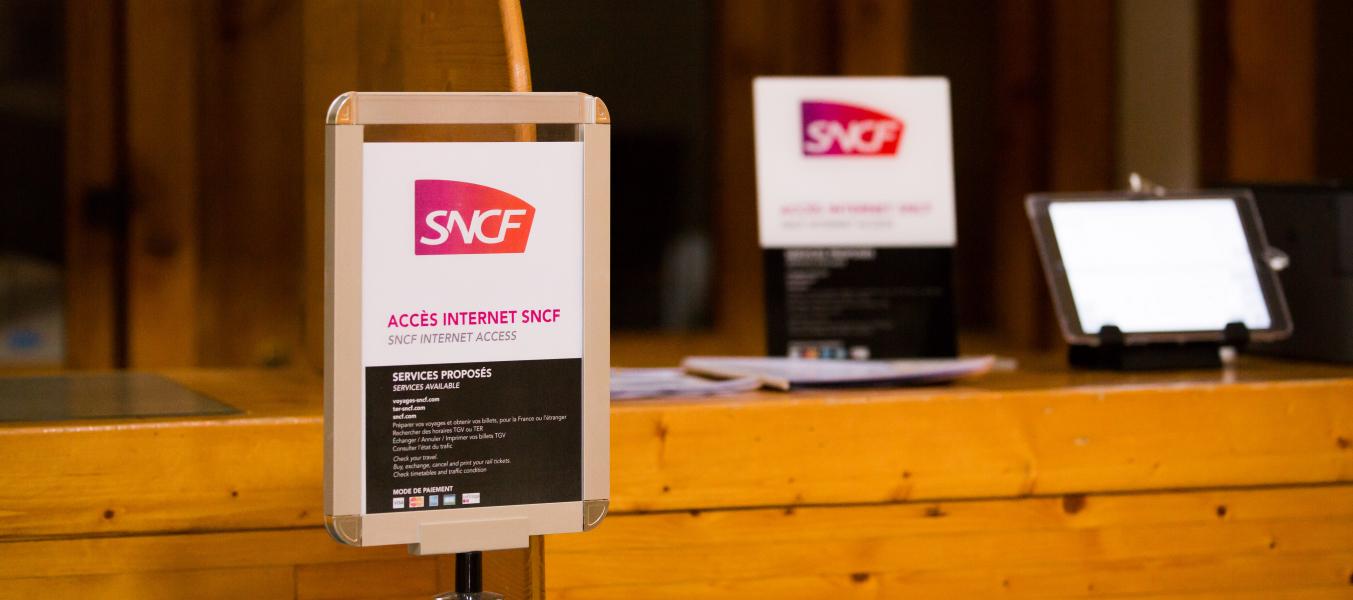 Tablette SNCF