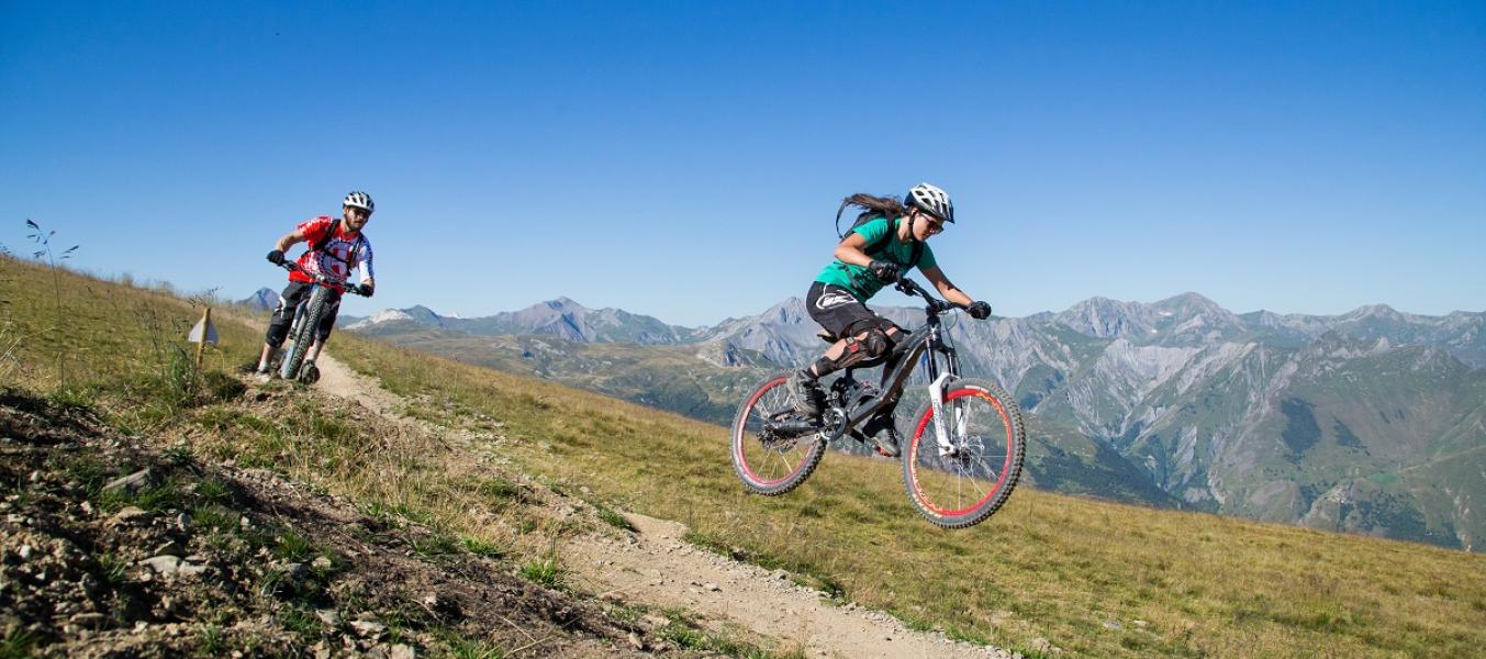bike park Meribel