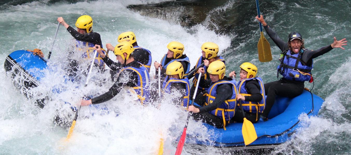 Rafting sur la Haute-Isere