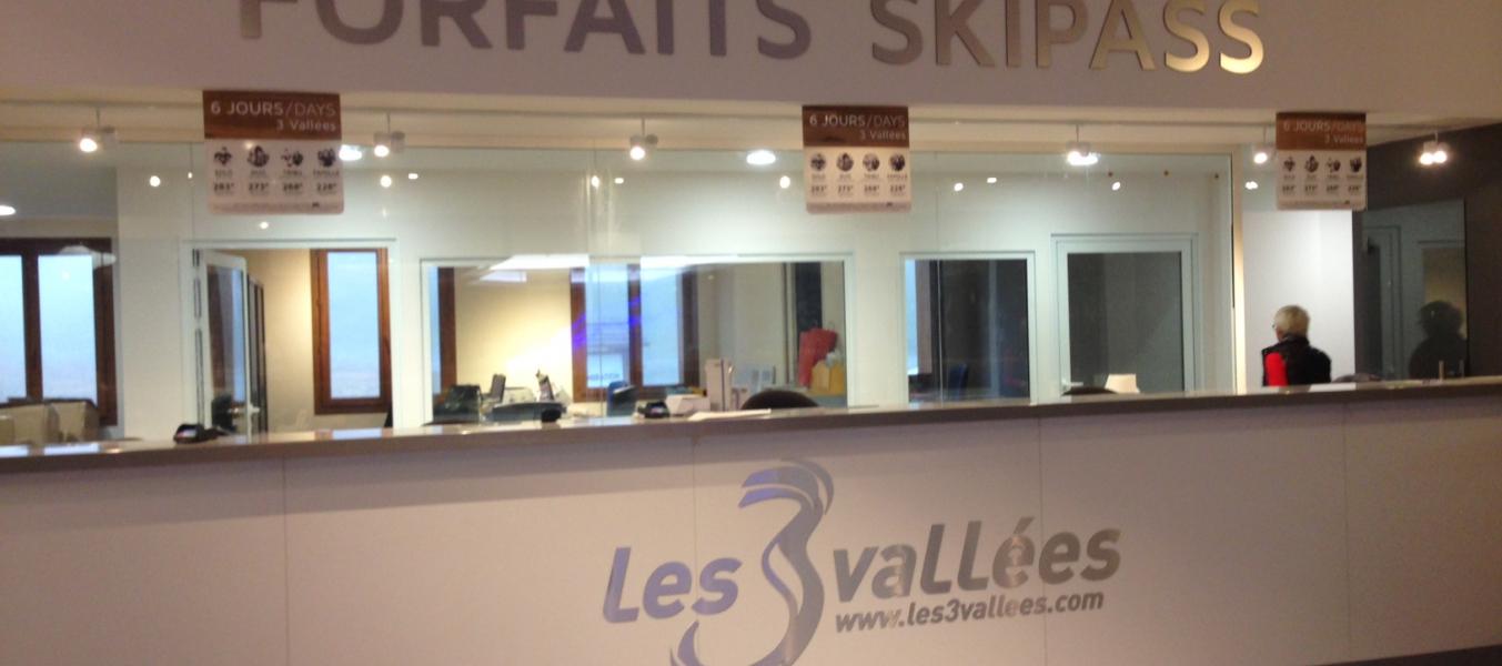 Point de vente - Forfaits de ski - Méribel Chaudanne