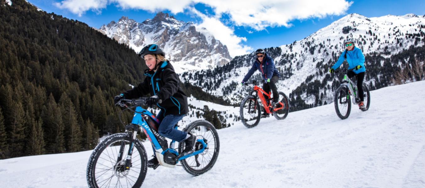 VTT Winter Tour : Stand d'exposition / Randonnée découverte VTTAE / Fat Bike pour tous les niveaux