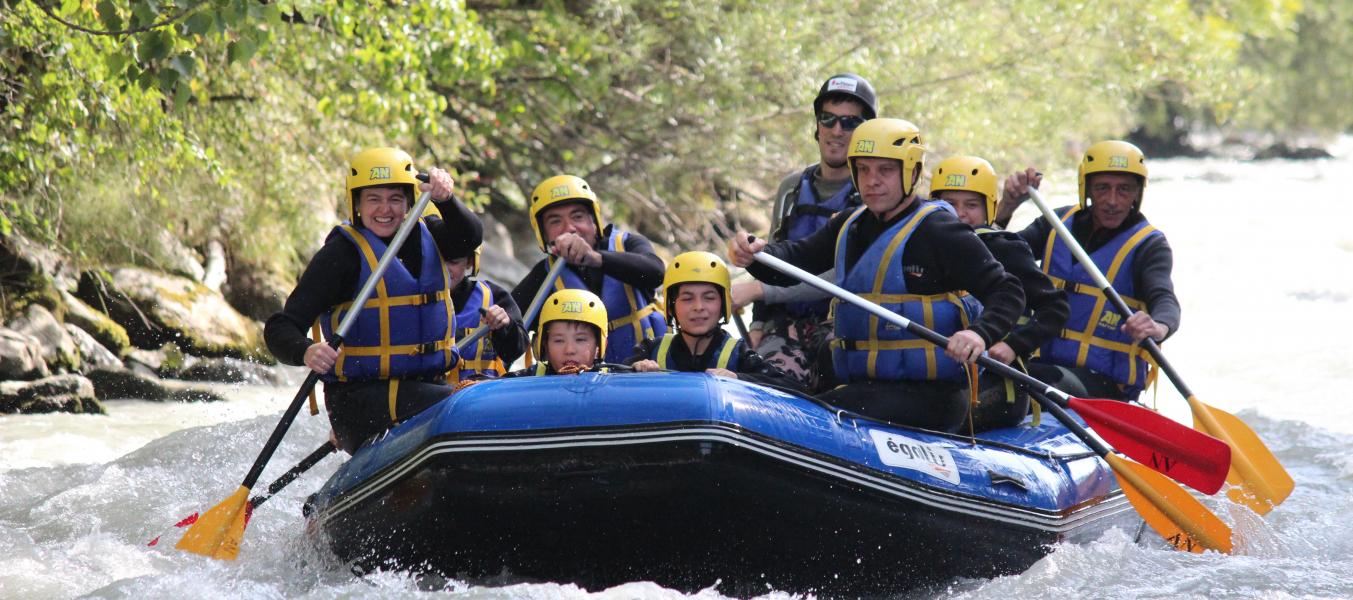 descente rafting découverte famille