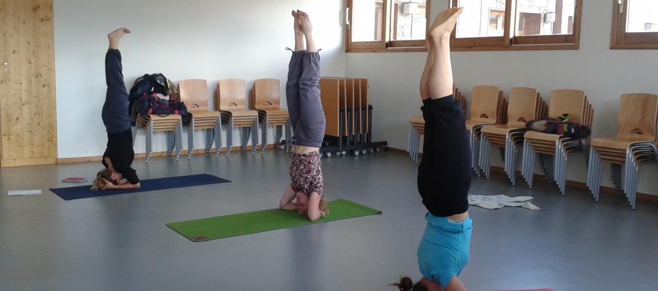 Cours de yoga du soir