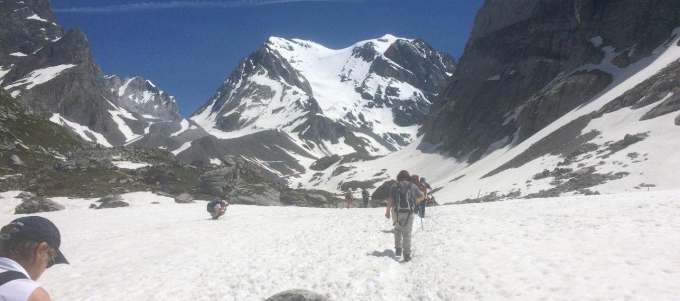 Approche des glaciers de Vanoise