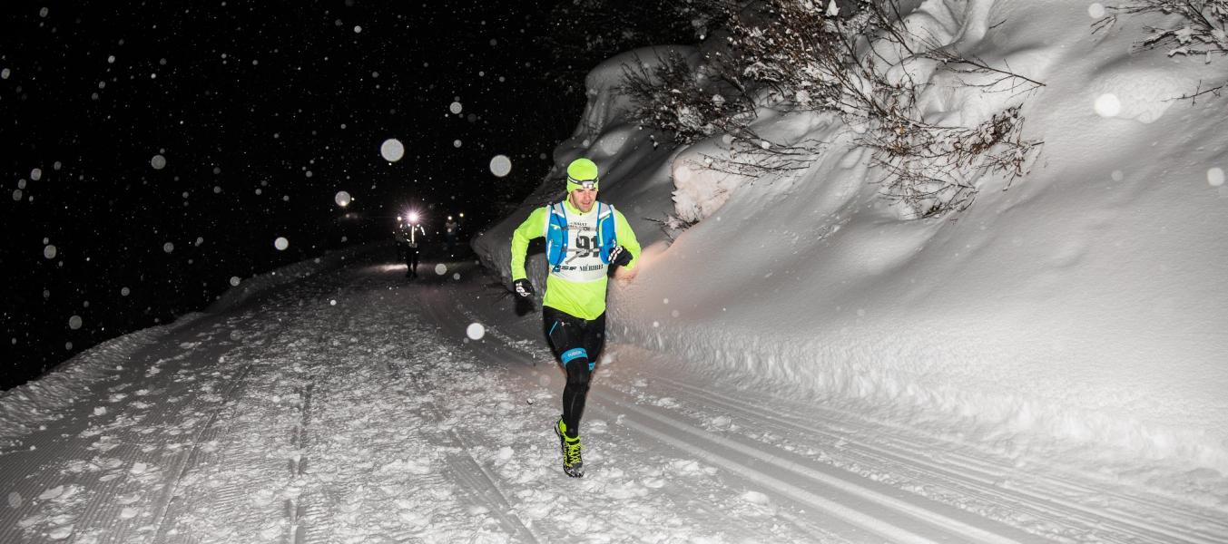 Trail hiver Méribel