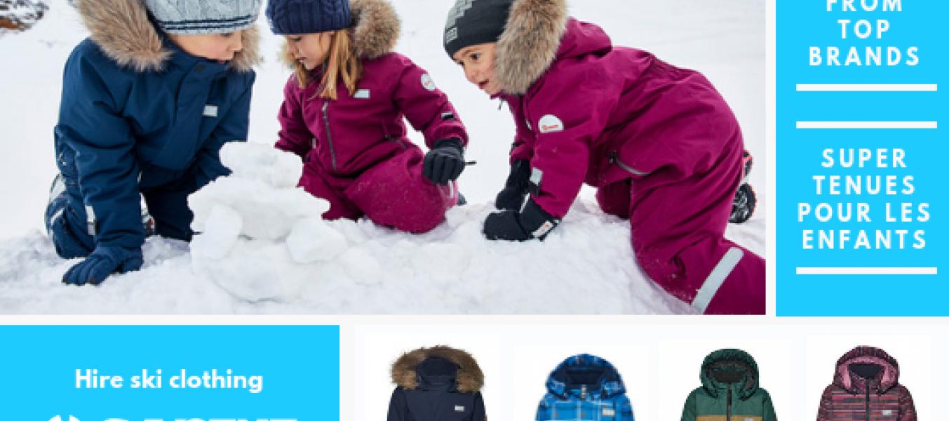 Pack Ski Enfant Cours + Vêtements