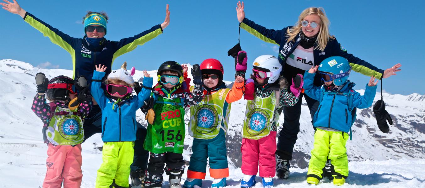 Cours collectifs enfants Ski
