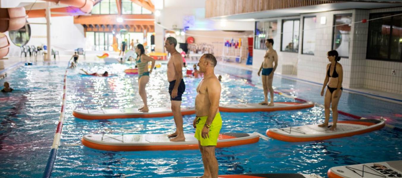 Piscine : Séances d'Aqua-Paddle