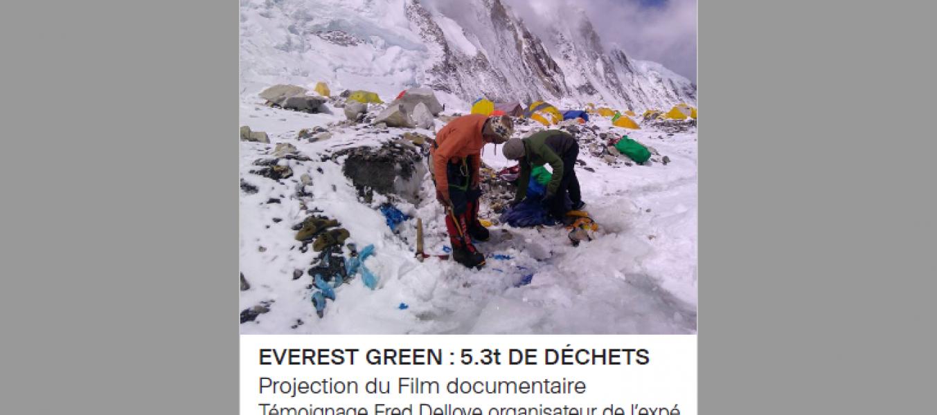 Film et Conférence Everest Green