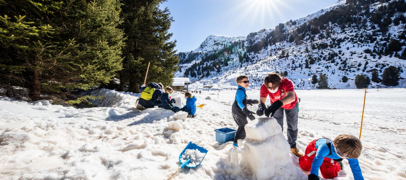 Animation famille 'Sculpture sur neige'