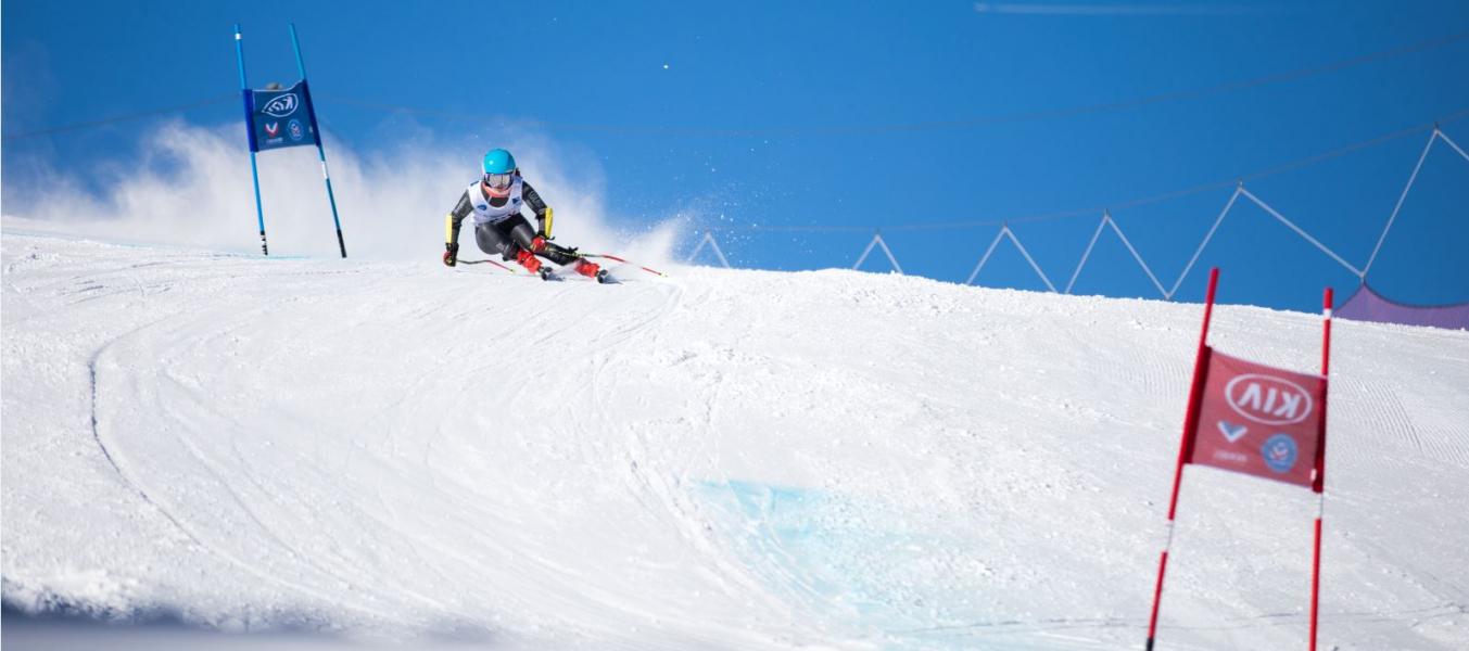 Flèche, slalom géant Méribel-Mottaret