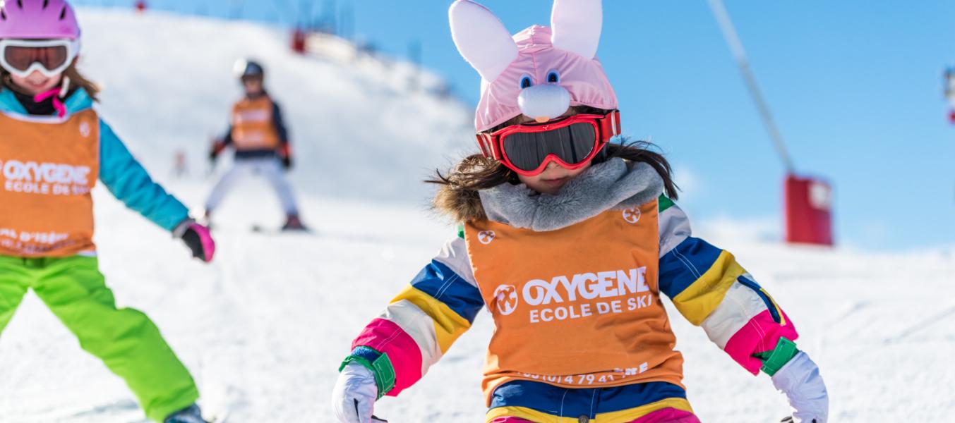 Cours de ski enfants Oxygène