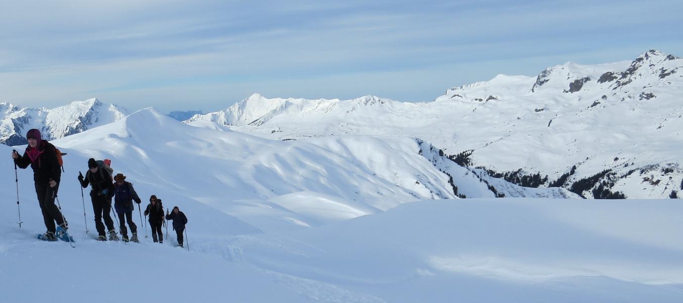 Vanoise - Tour de la Sana  /  Trek-Raquett'Alpine