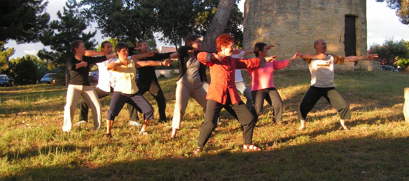 Chi Kung  du matin, anti-stress et vitalité