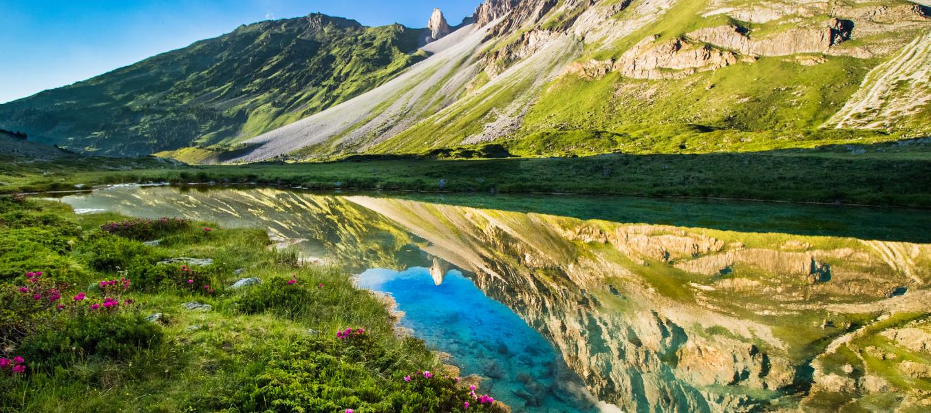 Alpage, glacier et Refuge du Saut: tout une histoire !