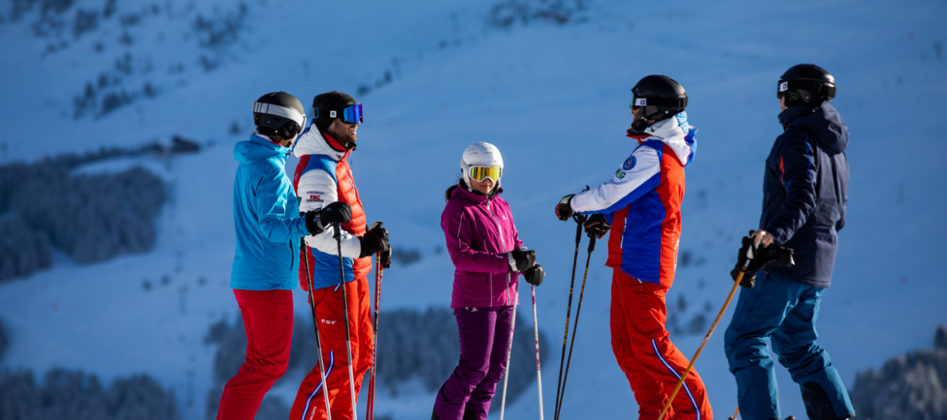 Cours collectifs adultes (Ski alpin)