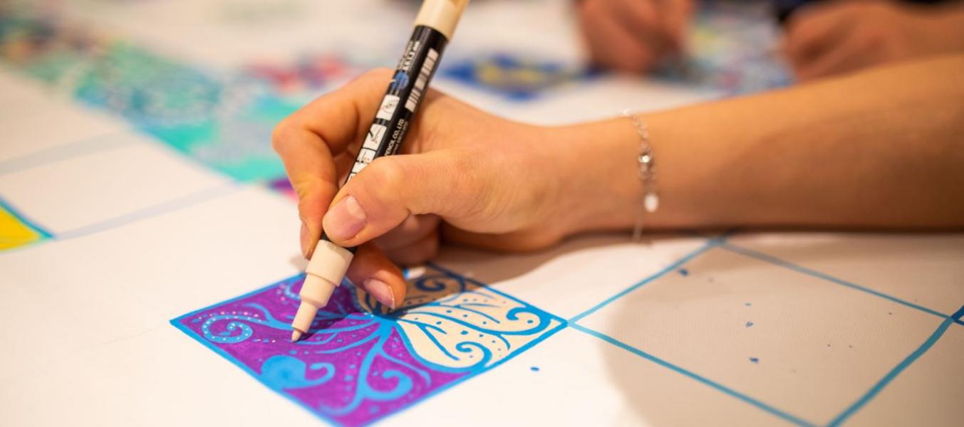 Ateliers d'art avec Isabelle Philips-Decramer