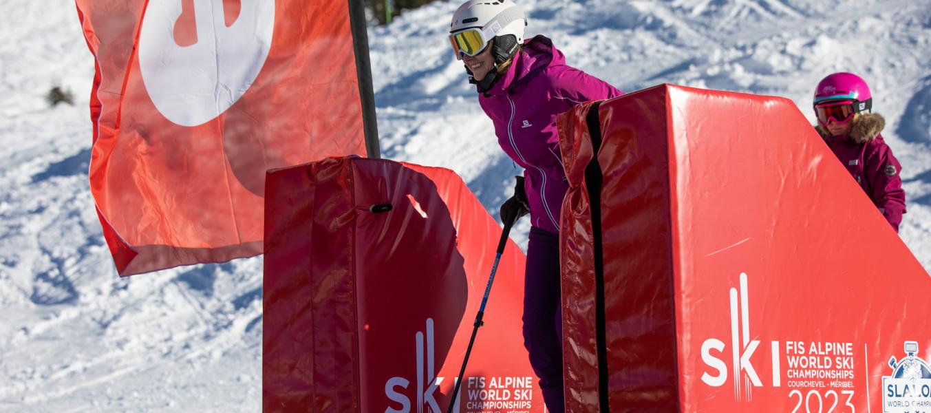 Slalom World champion