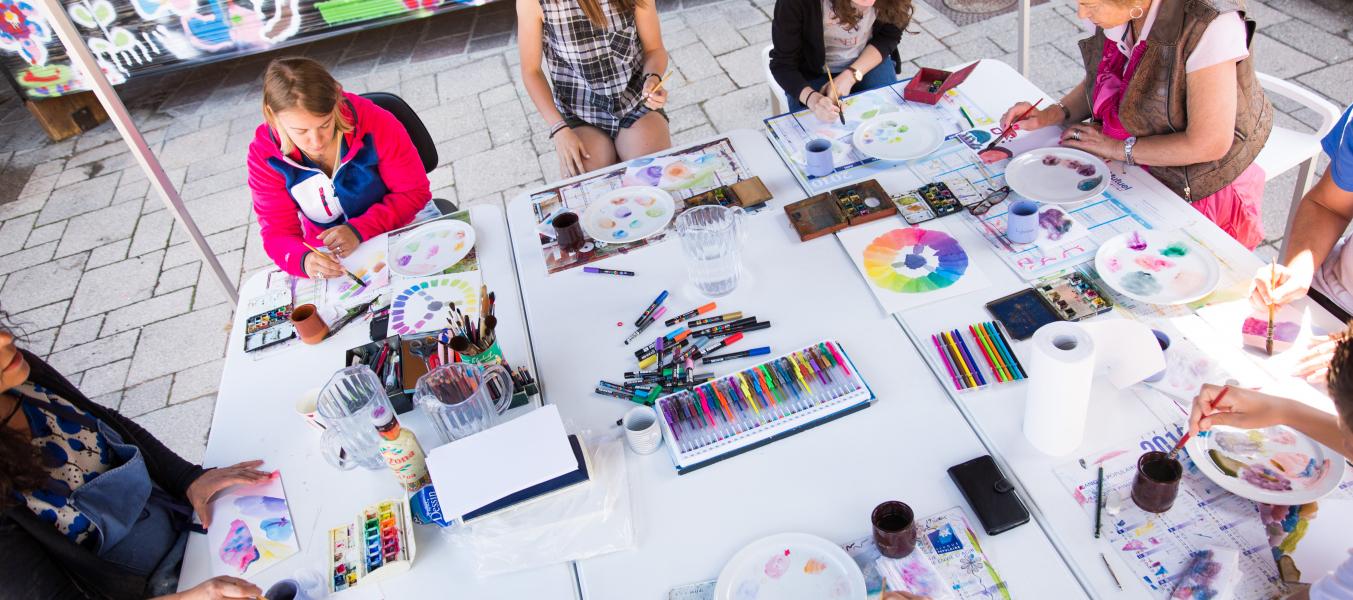 Ateliers de peinture