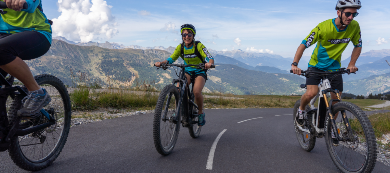 Montée impossible / E bike experience